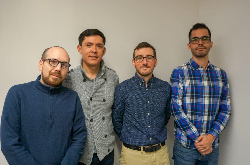 SANCHEZ Luis Hernando, GONZALES Carlos, LAFOND Romain et CHAVEZ GOMEZ Pablo de Jesus - Perce Neige